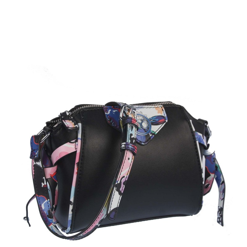 Bag with a colored stripe NOBO K303021WL