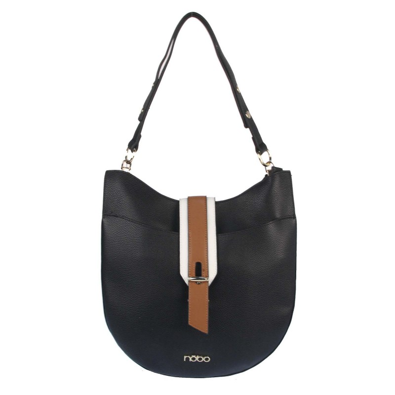 Bag with an interesting clasp NOBO K253021WL