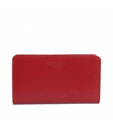 Leather wallet BADURA B-912-BSVT