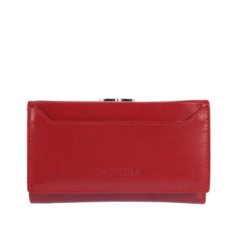 Leather wallet BADURA B-50583-BSVT
