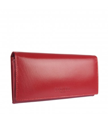 Leather wallet BADURA B-075-BSVT