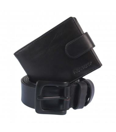 Set belt+wallet R-N992L-110-T ROVICKY