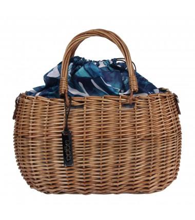 Basket XK009021WL NOBO woven wicker