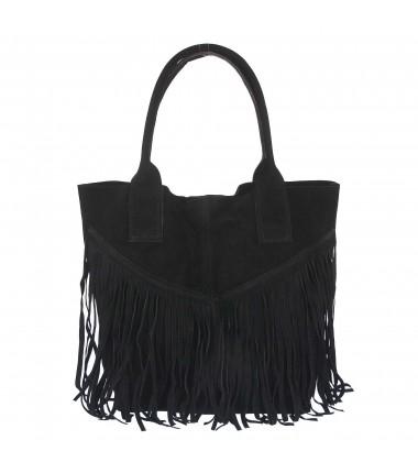 EC026 Elizabeth Canard bag with fringes