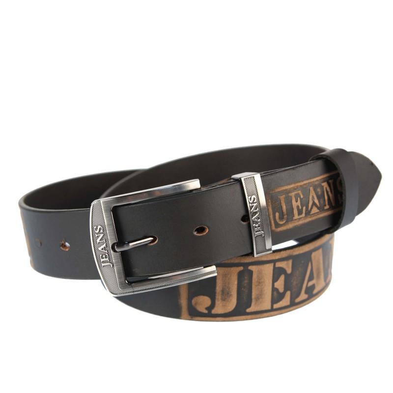 Men's belt PAM1015-4 BROWN
