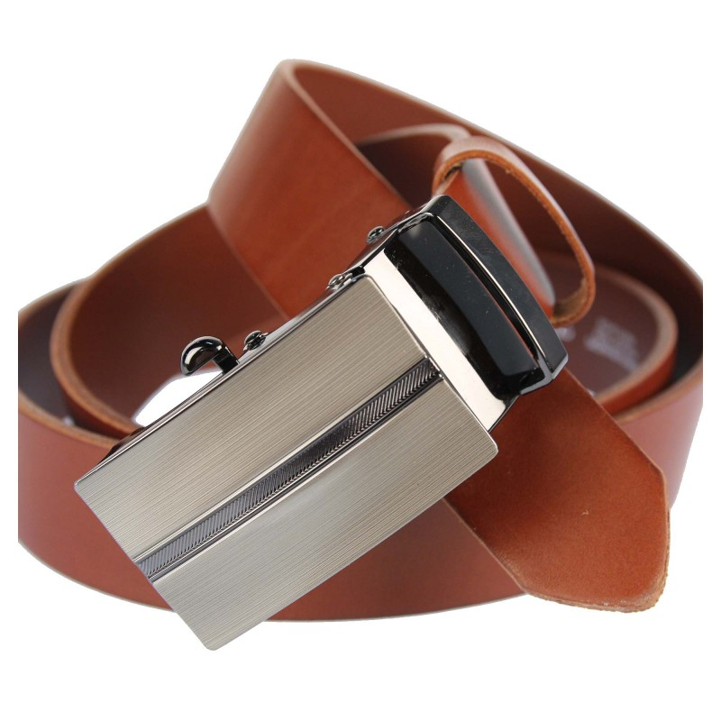 Men's belt PAM1012-35 CAMEL