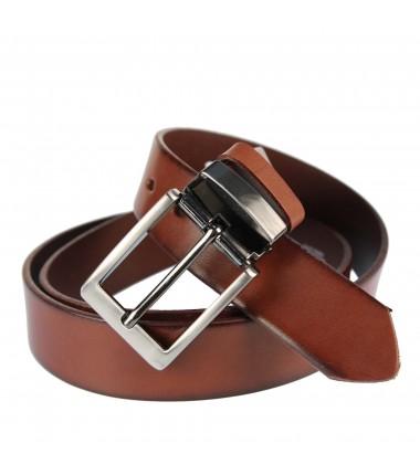 Men's belt PAM1008-35 BROWN