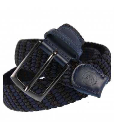 Men's belt PAM1009-35 BROWN-BLACK