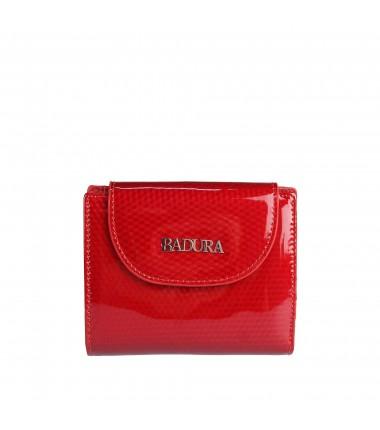 Leather wallet Badura B-41373P-SBR