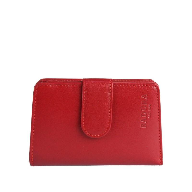 Leather wallet Badura B-50313-BSVT