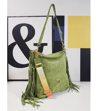 Handbag S0909-ECROCO EGO