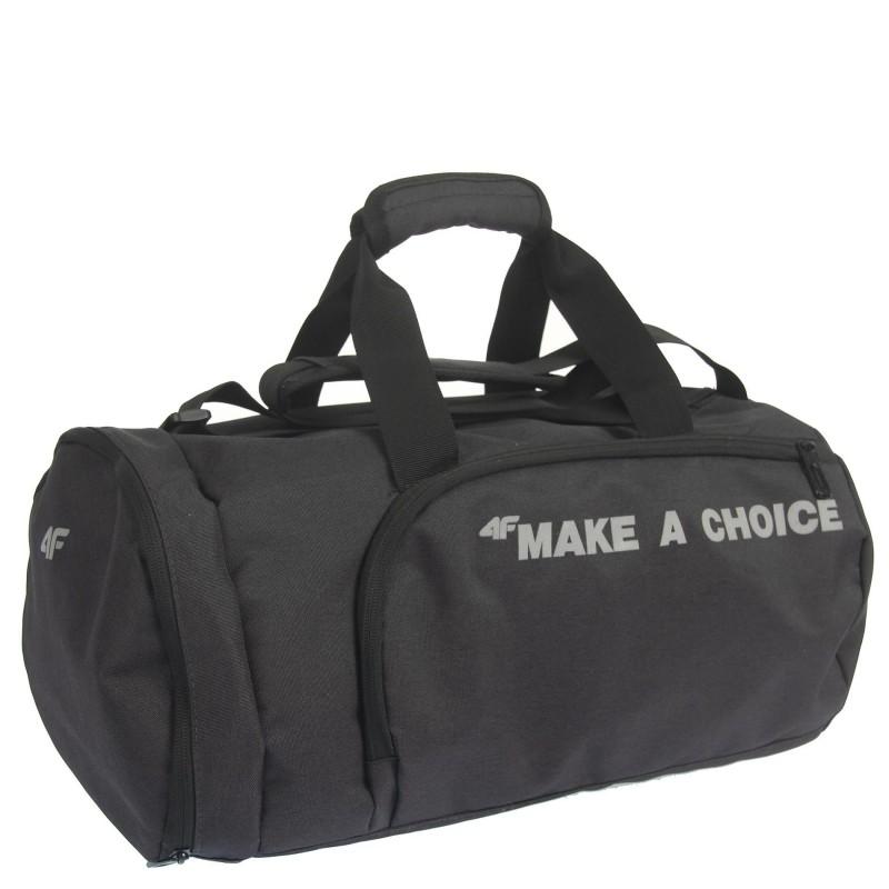 Small sports bag TPU006 J18-1 4F with a print