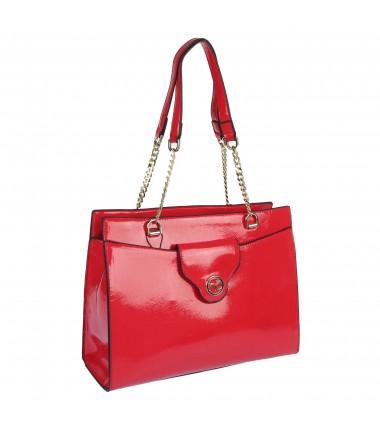 Lacquered handbag L1750 NOBO