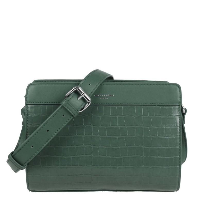 Three-chamber handbag CH21024 JZ21 David Jones croco