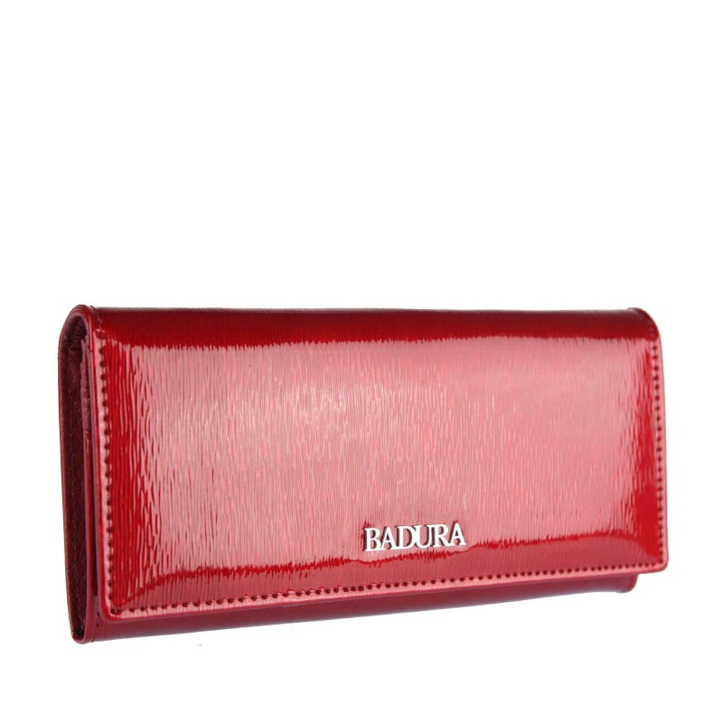 Badura varnished leather wallet B-72401P-SH