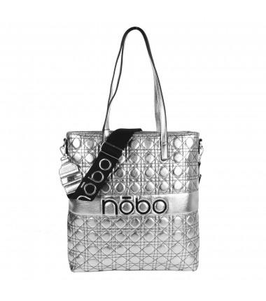 Big handbag NOBO L0820 quilted
