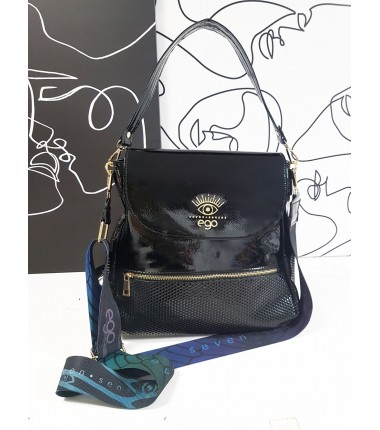 Backpack with feathers R-261 F2 EGO, lacquered