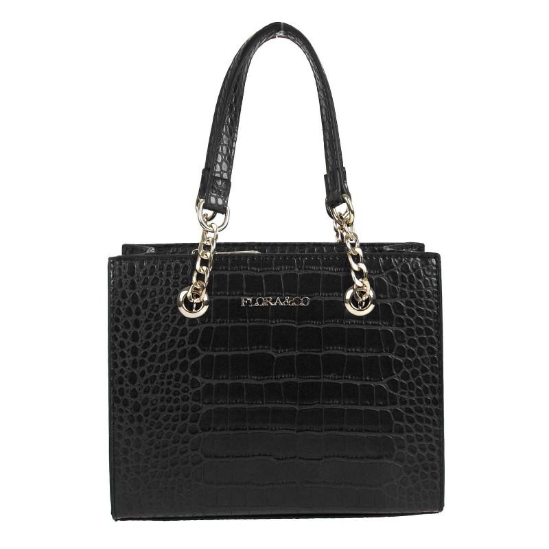 Handbag X9537-1 Flora & co croco