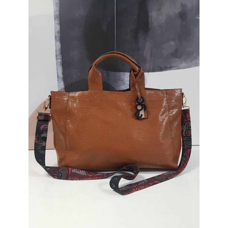 Large EPE728 EGO croco bag