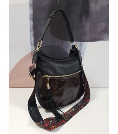 21057ET F13 EGO handbag with a large pocket in the front