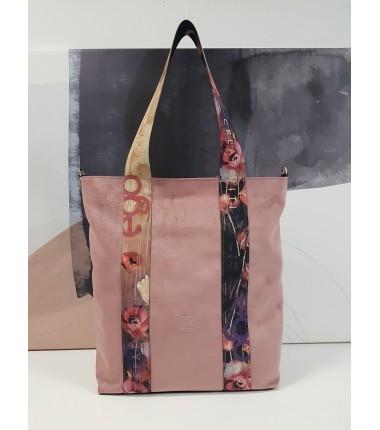 Large suede handbag 2029JK A5 EGO