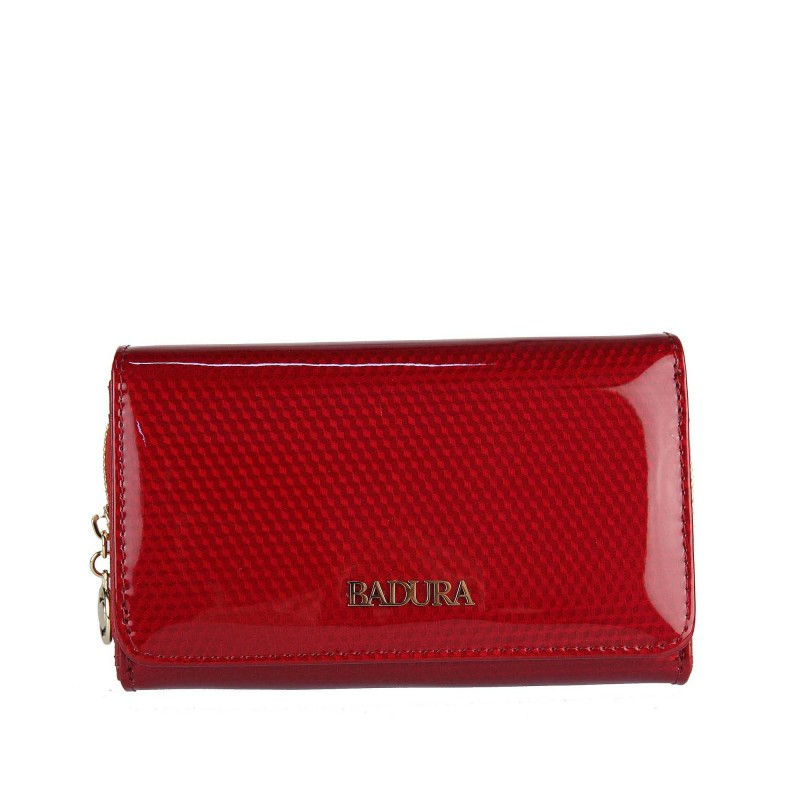 Badura varnished leather wallet B-8806P-SBR