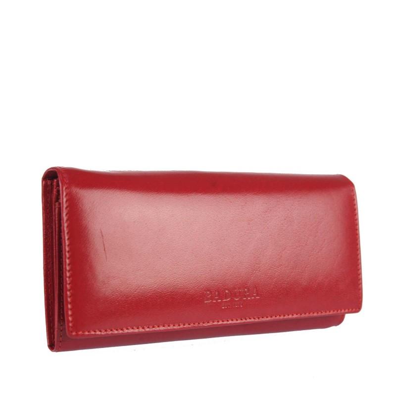 Leather wallet BADURA B-052-BSVT