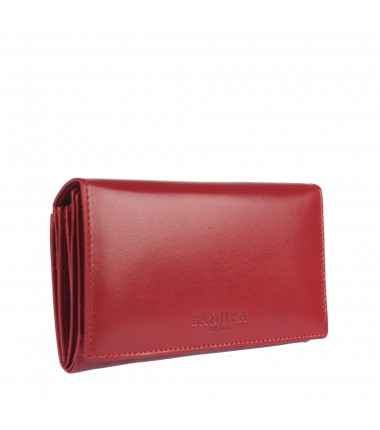 Leather wallet BADURA B-CPR-007-BSVT