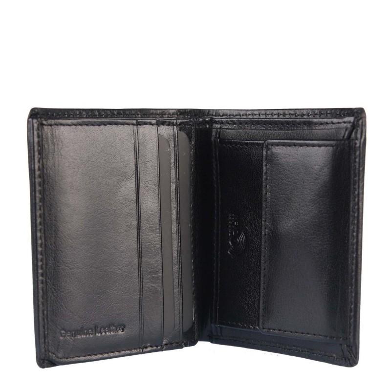 Badura leather wallet B-CPR-028-BSVT