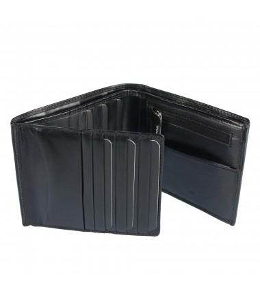 Leather wallet Badura B-262-BSVT
