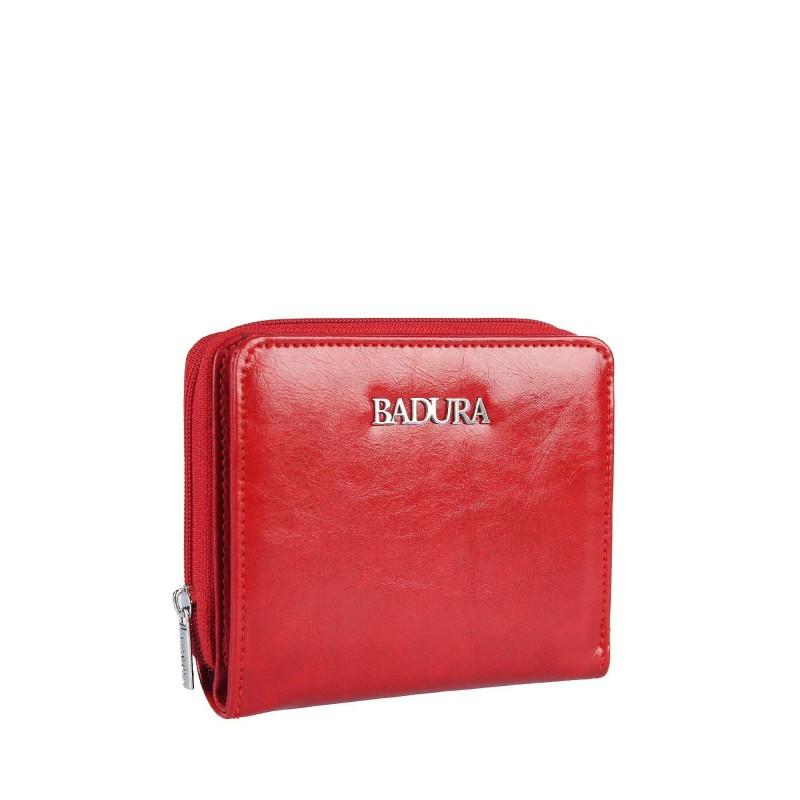 Leather wallet BADURA B-41375P-BPR
