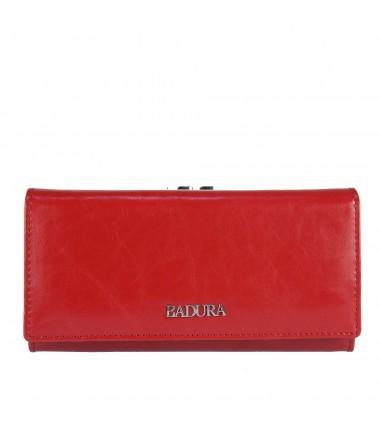 Leather wallet BADURA B-43876P-BPR