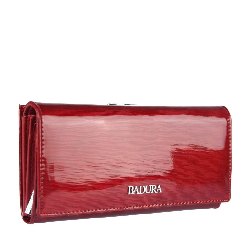 Leather wallet BADURA B-43876P-SH