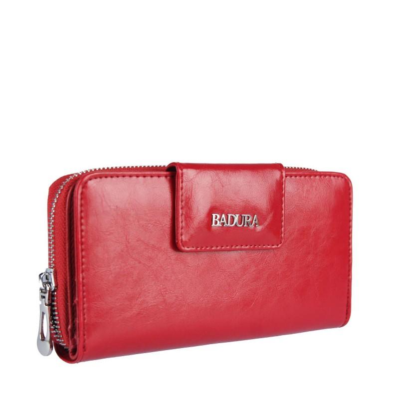 Leather wallet BADURA B-43879P-BPR