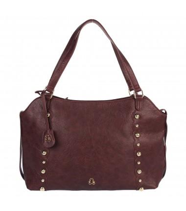 Large purse with studs LULU-A21007 LULU CASTAGNETTE