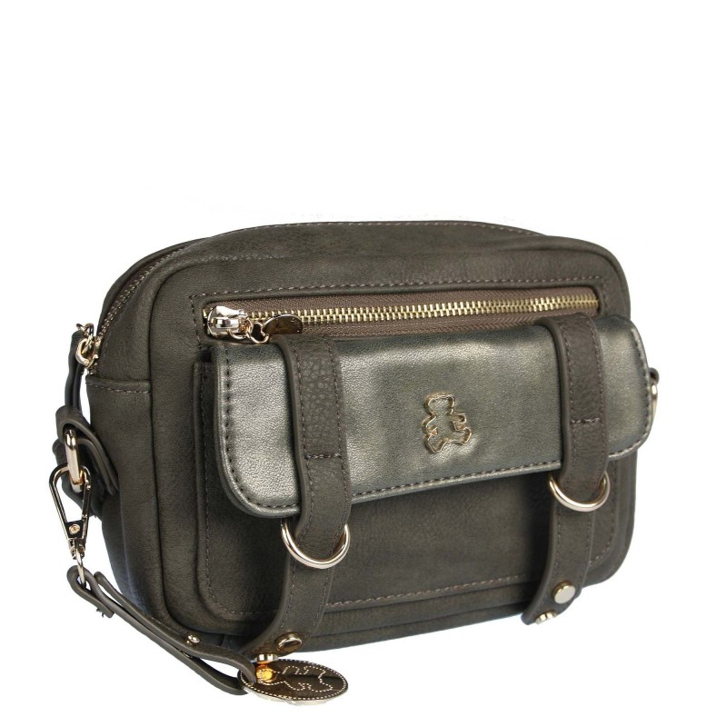 Messenger bag LULU-A20-007 LULU CASTAGNETTE with straps