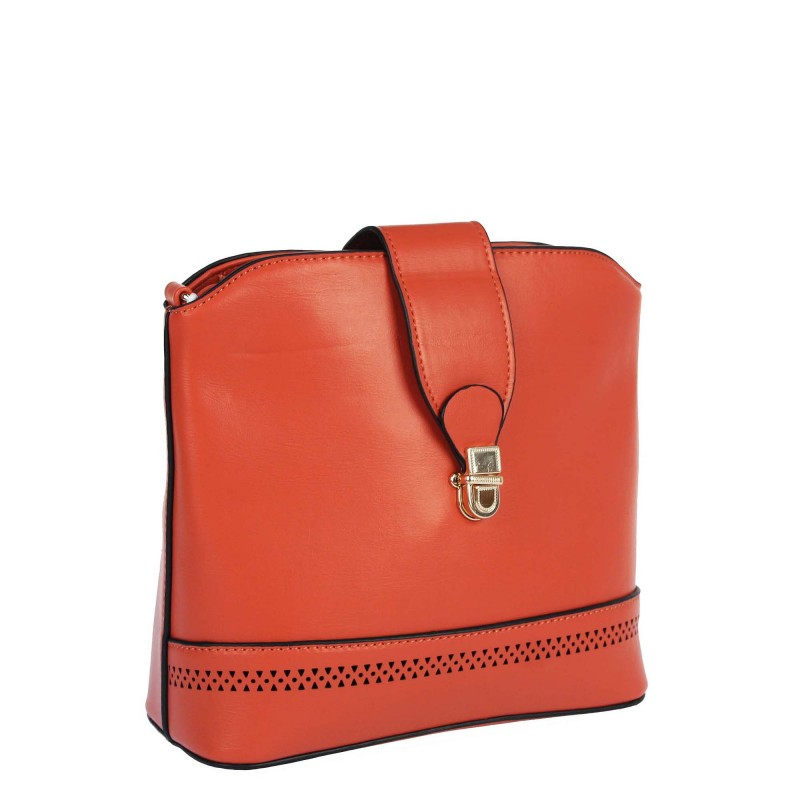 Messenger bag with a pocket on the back 2053 The Grace Style