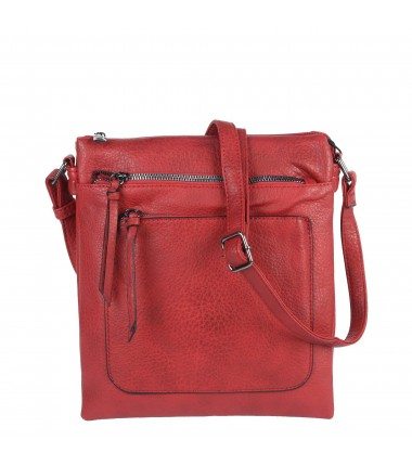Messenger bag A3129 Erick Style with two pockets