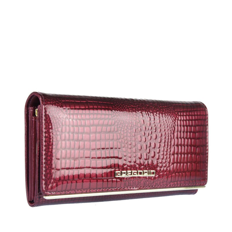Women's wallet with an animal motif SLL100 GREGORIO