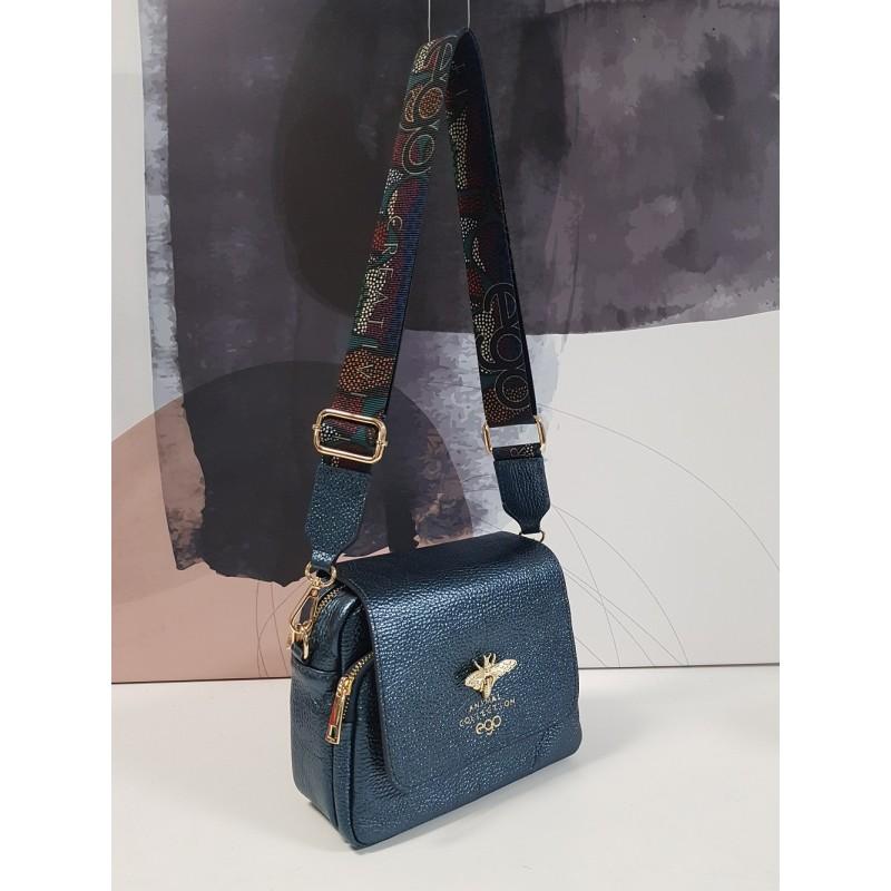Metallic bee handbag S0917-E-MT HIT leather EGO