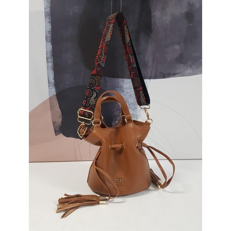 Handbag with a drawstring ES-S0043 EGO