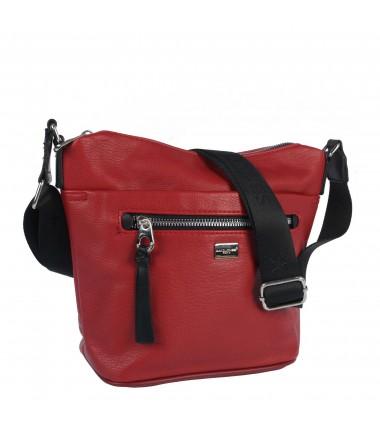 Messenger bag with a pocket on the front 6604-1 JZ21 David Jones